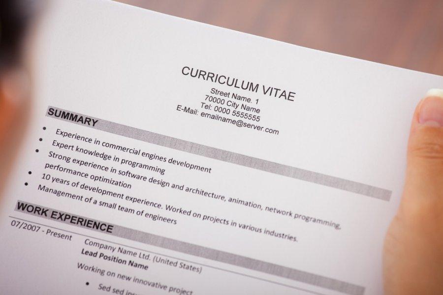 CV sablonas